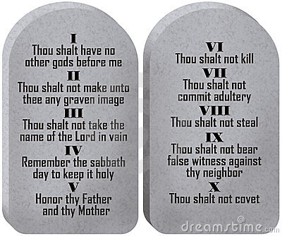 seek to know the truth an updated version of the ten commandments
