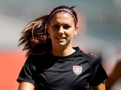 Alex Morgan. Photo Courtesy from howaboutwe.com