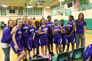 2011-2012 Season Lady Crusaders @ Sutton after their playoff loss.