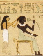 Servants in Egypt often worked for very little pay. Anything they had was usually found or payed for very prudently.