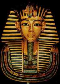 In Egyptian society, the pharaoh was worshiped. The Egyptians believed him to be the son of Ra and therefore, part god.