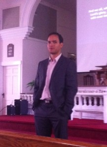 Pastor Andre Costa at the Village Church
