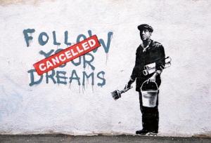 Courtesy of Google Images- Banksy
