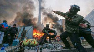 Protests in Kiev. Courtesy of ABC News.