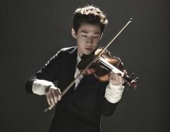 Henry on Violin