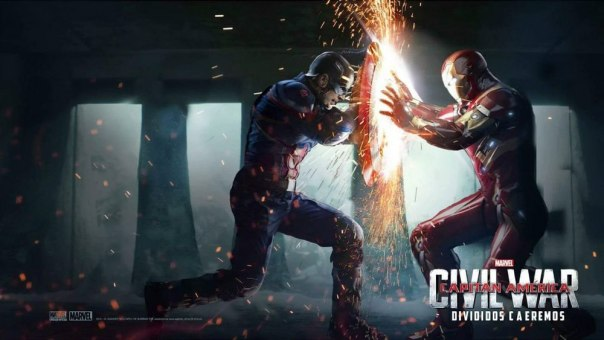 Captain America VS Iron Man (EPIC)